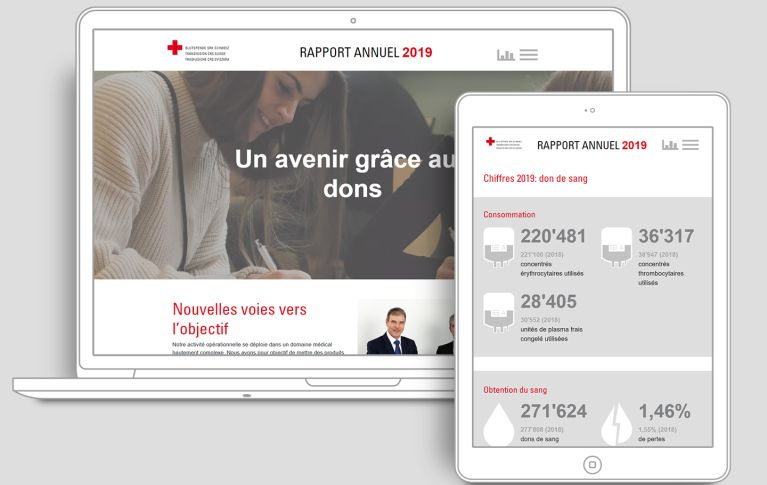 Rapport annuel Transfusion CRS Suisse 2019